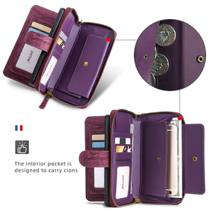Image 4 - MEGSHI آيفون 11 حافظة محفظة بولي Leather جلد متعددة الوظائف حقيبة يد حافظة هاتف آيفون 6 6S Plus 7 8 X Xr XS 11Pro Max SE2020