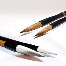 Chinese Brush Pen Pure Weasel Hair Brush Pen 4pcs/set Adult High Grade Chinese Multiple Hair Calligraphy Brushes Tinta China