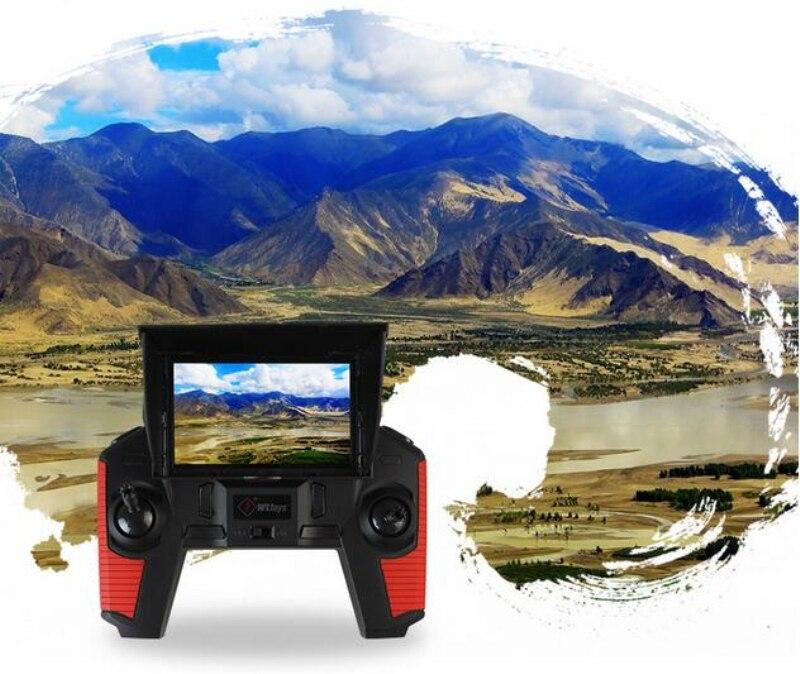 5.8G em tempo real de transmissão FPV RC Drone com HD camera Um Retorno Chave Headless Modo RC Quadcopter RTF vs x8G X5UW rc brinquedos presentes - 6