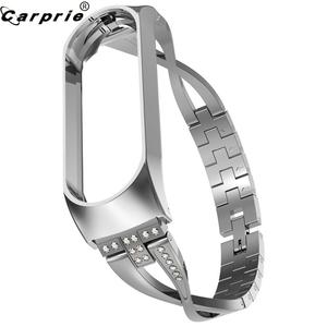 CARPRIE Watch-Strap Bracelet Replacement-Accessory Mi-Band Smart-Watch Stainless-Steel