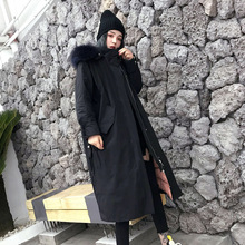 Women Loose Korean Winter Puffer Coat Womens Long Down Jackets Female Warm Feather Jacket Parka Coats Duck Outerwear Harajuku