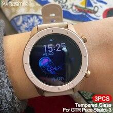 Amazfit Pace Stratos 3 Verge 9H 샤오미 유리 Xiaomi Huami Amazfit GTR 42mm 47mm 용 우수한 화면 보호 필름 커버