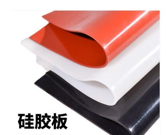 1mm silicone caoutchouc feuille en bois porte silicone feuille presse sous vide silicone caoutchouc tapis 1000x2500x1mm