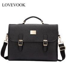 Lovevook delle donne del sacchetto del computer portatile borse borse ufficio per le signore 2020 borse di lusso sacchetto di spalla crossbody per il lavoro di scuola Satchel borsa da viaggio