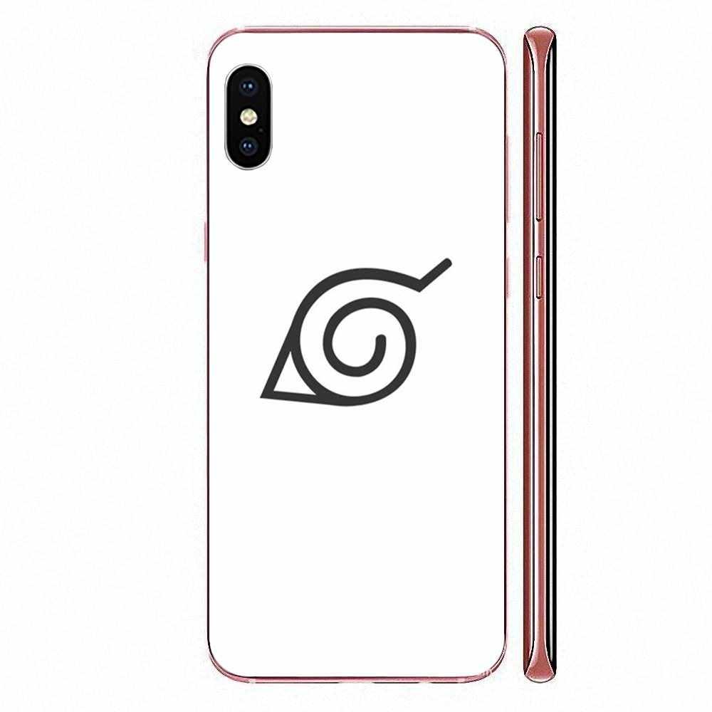 Huawei onur Mate 7 için 7A 8 9 10 20 V8 V9 V10 V30 P40 G Lite oyun Mini Pro P akıllı yumuşak TPU kılıfı cep Naruto Konoha Logo
