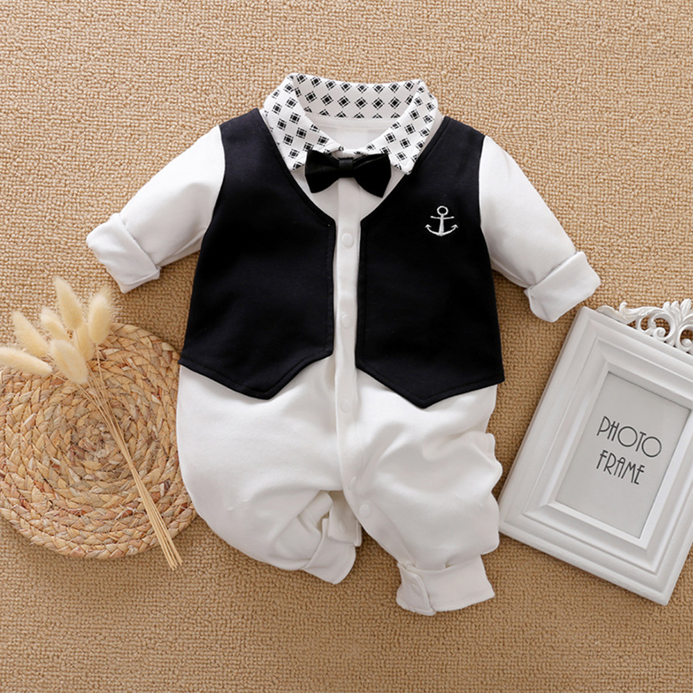 Malapina Baby Boy Romper Kids Summer Spring 0-24M Age Infant Gentleman Toddler Newborn Outfits Baby Girls Clothes 2020 6