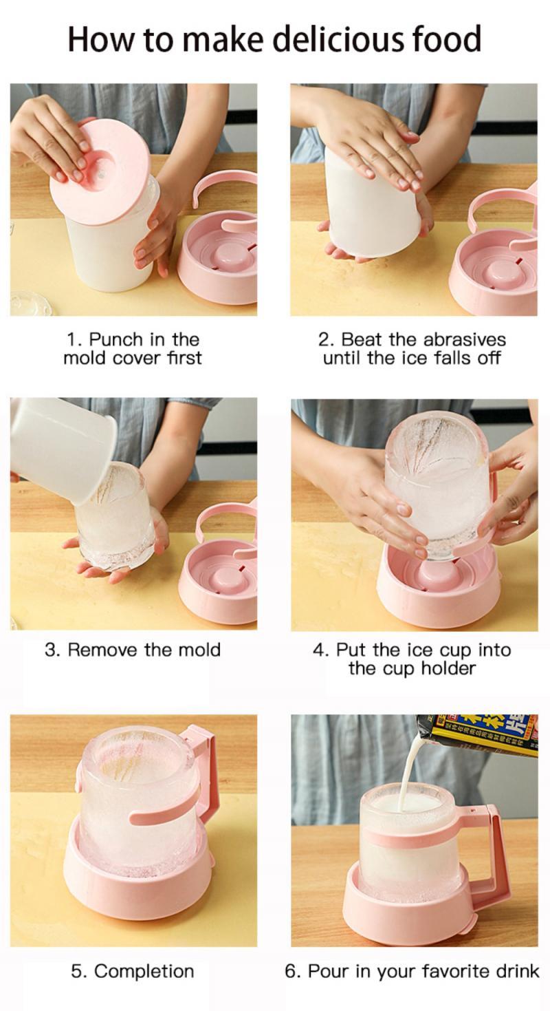 Ice Mug Making Mold