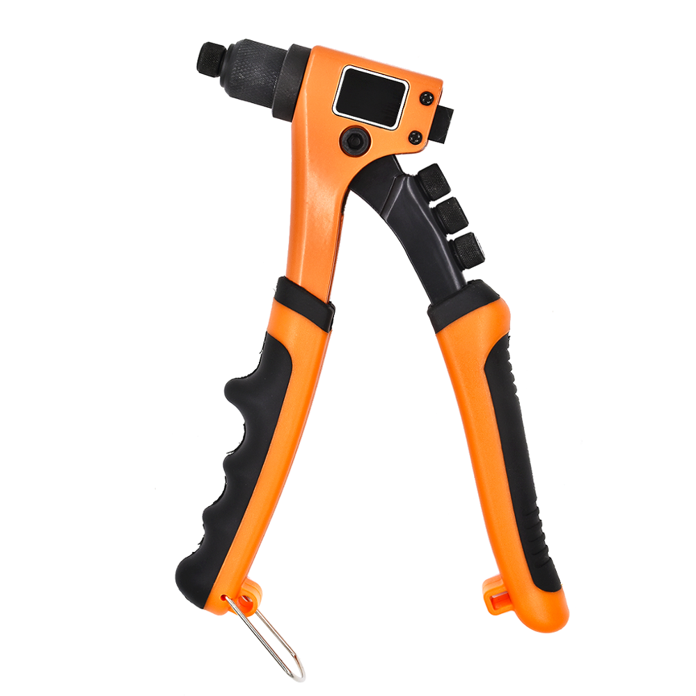 GOXAWEE Hand Threaded Rivet Nuts Guns Insert Manual Riveting Rivnut Tool Kit Heavy Duty Hand Tool Set For Metal Woodworking