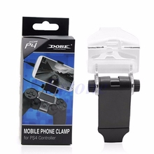 Mobile Smart Phone Clip Clamp Mount Holder For PlayStation PS4 Game Controller X6HB