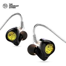 Tfz live 11.4mm + 2dd unidade de grafeno fone de ouvido intra auricular fone de ouvido com cancelamento de ruído hifi bass monitor fones de ouvido com 2 pinos