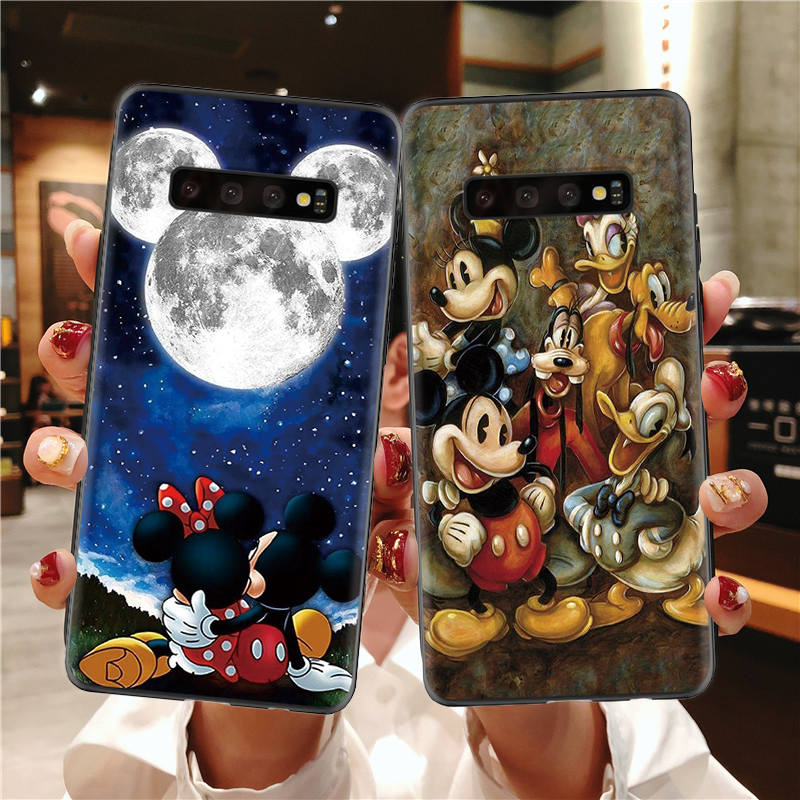 Fashion Cover <font><b>Cases</b></font> For Samsung Galaxy A50 A70 A40 S8 S9 S10 S7 S6 Plus S10e A50S A7 A9 A6 A8 Plus 2018 Cartoon <font><b>Case</b></font> Coque TPU image