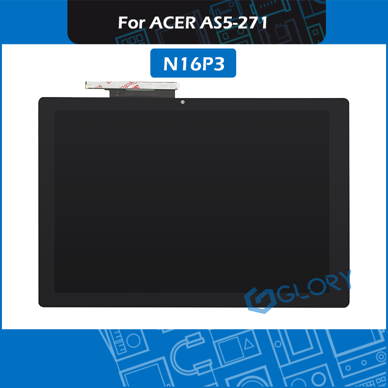 New N16P3 LCD Screen Digitizer Assembly For ACER SA5-271 Switch Alpha 12 Touch Display Assembly Replacement