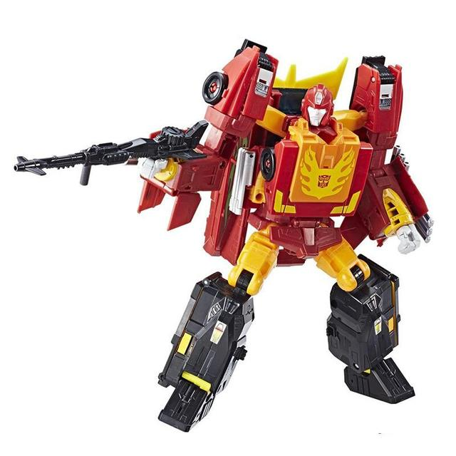 Leader Class Power of the Prime Rodimus Prime With The Matrix Action Figures Truck Car Classic Toys For Boys without box