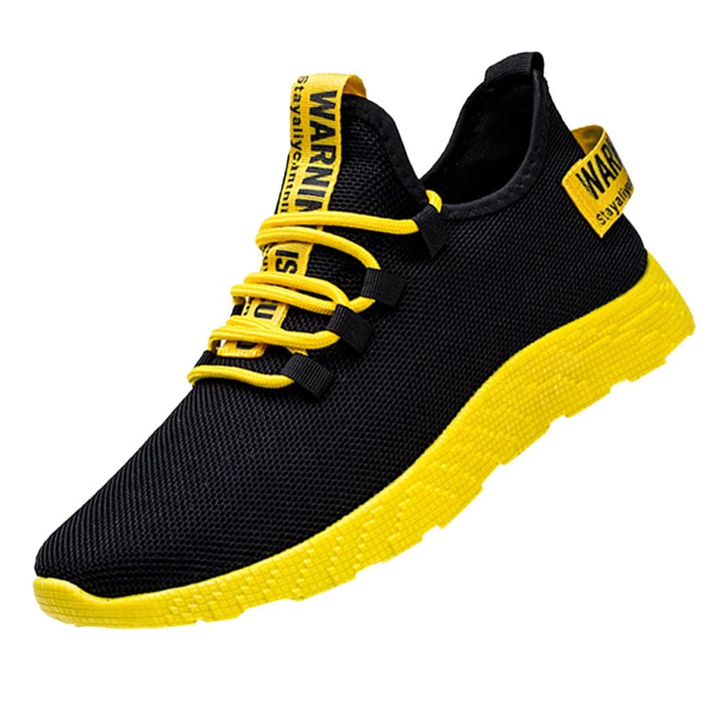 Sagace nova malha sapatos casuais masculinos laço-up voando tecelagem turística lazer sapatos esportivos para masculino sapatos casuais