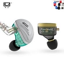 NEW KZ AS12 6BA In Ear Earphones HIFI Sport Monitor Headset Noise Cancelling Earphone Earbud AS16 AS10 AS06 ZS10 PRO ZSX C16 C12 kz zs10 4ba 1dd hybrid in ear earphone hifi running sport earphones earplug headset earbud for zs3 zsn pro s1 s2 zs10 pro