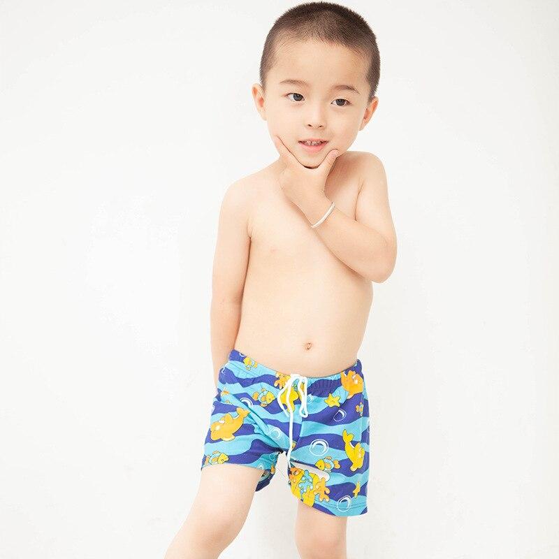 BOY'S AussieBum Cute Cartoon Beach Shorts Men Swimming Suit BOY'S Beach Pants Manufacturers Wholesale