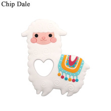 Chip Dale 5PCS Baby Silicone Teether Sheep Baby Teething Toy