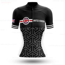 2020 British women's cycling sweatshirt,mountain cycling T-shirt,summer black short sleeve Cycling Short Sleeve Jersey equipment(China)
