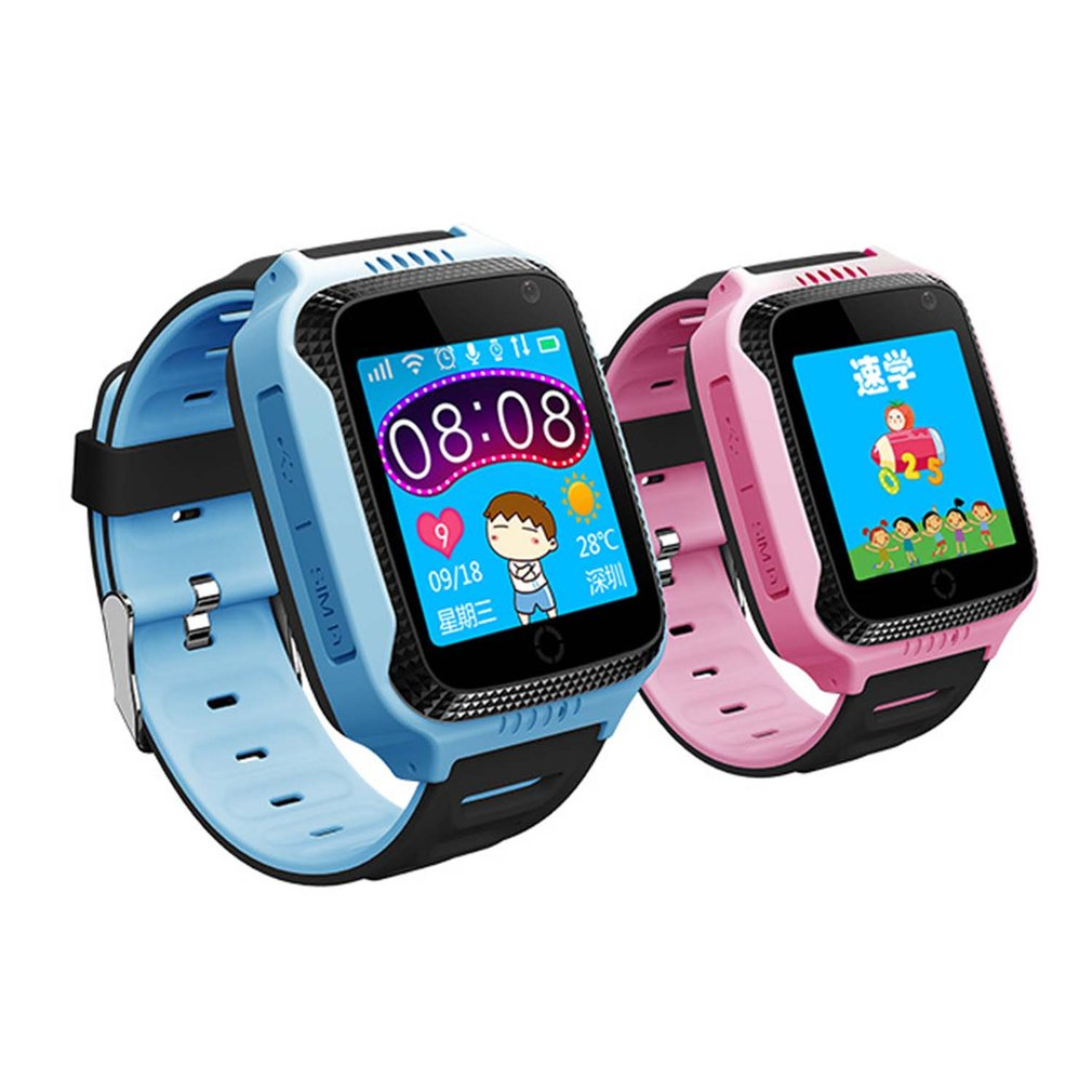Q529 Smart Watch GPS Location Tracker Touch Screen Kids Wristwatch With Flashlight Camera SOS Phone Call Support Russian/English