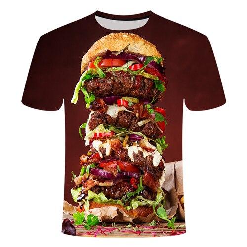 Летняя футболка с 3D принтом в виде пива, покера, для мужчин и женщин, забавная Новинка, футболка с круглым вырезом и коротким рукавом, топы, модные уличные мужские футболки - Цвет: TX014