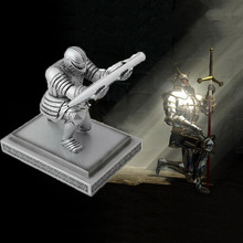 Creative Resin Soldier Executive Knight Shaped Pen Holder Fashion Personalized Desktop Accessories Decorative Pen Stand цена 2017