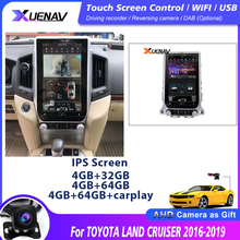 13.6 inch Car radio tape recorder head unit multimedia player for TOYOTA LAND CRUISER 2016 2019 Car GPS Navigation for TOYOTA