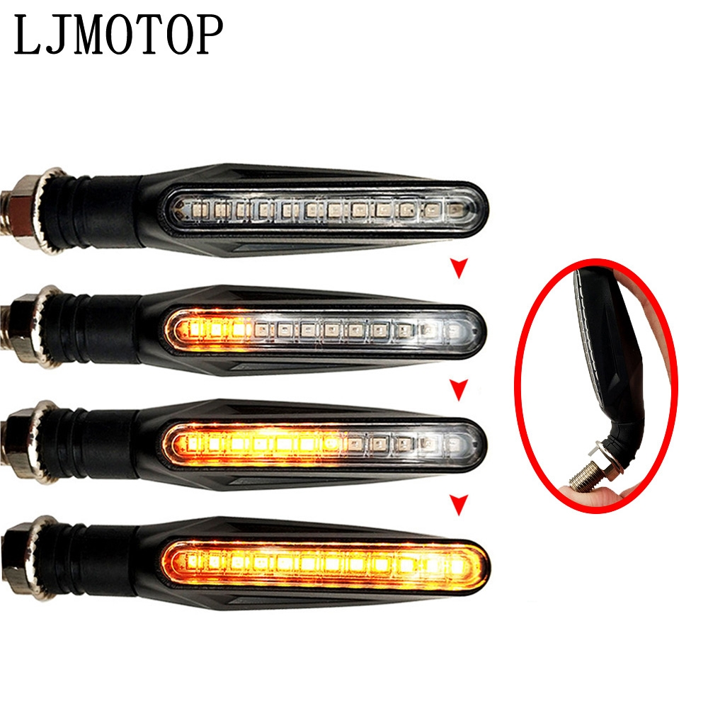 LED Motorcycle Turn Signal Lights Flashing Signal Lamp Accessories For DUCATI 1098/S/TRicoloR 1198/S/R 749/S/R 848 /EVO|  - title=