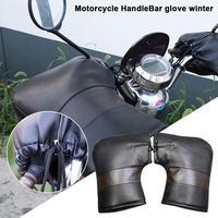 Motorrad Grip Lenker Handschuhe Muff Wasserdicht Winddicht Winter Verdicken Wärmer Thermische Abdeckung Handschuh Für Motorräder Roller