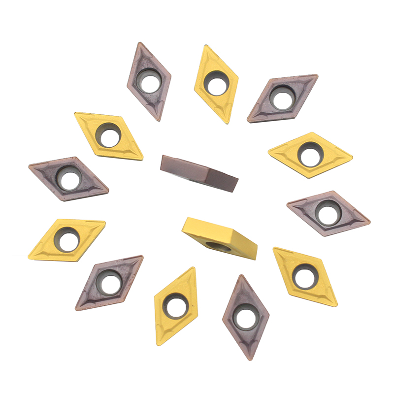 10pcs DCMT070204 UE6020 / US735/VP15TF Carbide Inserts Internal Turning Tools  Cutting Tool CNC Tools Lathe Cutter