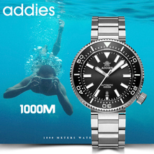 2019 New Fashion Watch Stainless Steel Diver Watch 1000M Water Resistant sapphire glass ceramic bezel blue luminous