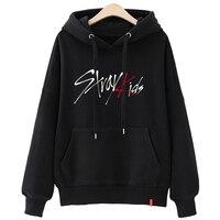 stray kids sweatshirt kpop oversized hoodie graphic print Korean clothes harajuku sweat femme oversize ladies fall clothing