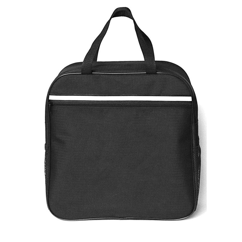 Portable Wheelchair Bag Storage Travel Multi Function Reflective Stripe Oxford Black Water Resistance Old People Lightweight