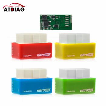 NitroOBD2 skrzynka do tuningu elektronicznego Nitro OBD2 wydajność Plug and Drive Tuning układu OBD2 działa na Diesel opakowanie detaliczne tanie i dobre opinie ATDIAG CN (pochodzenie) Newest english Czytniki kodów i skanowania narzędzia as photo one year china best and timely