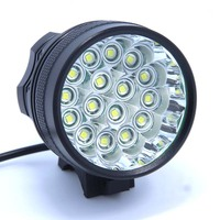 16T6 New 16 LED 2 in 1 20000LM 16 x XM L T6 LED Bicycle Light Cycling Bike Headlight Headlamp Head Lamp + Battery Pack +Charger