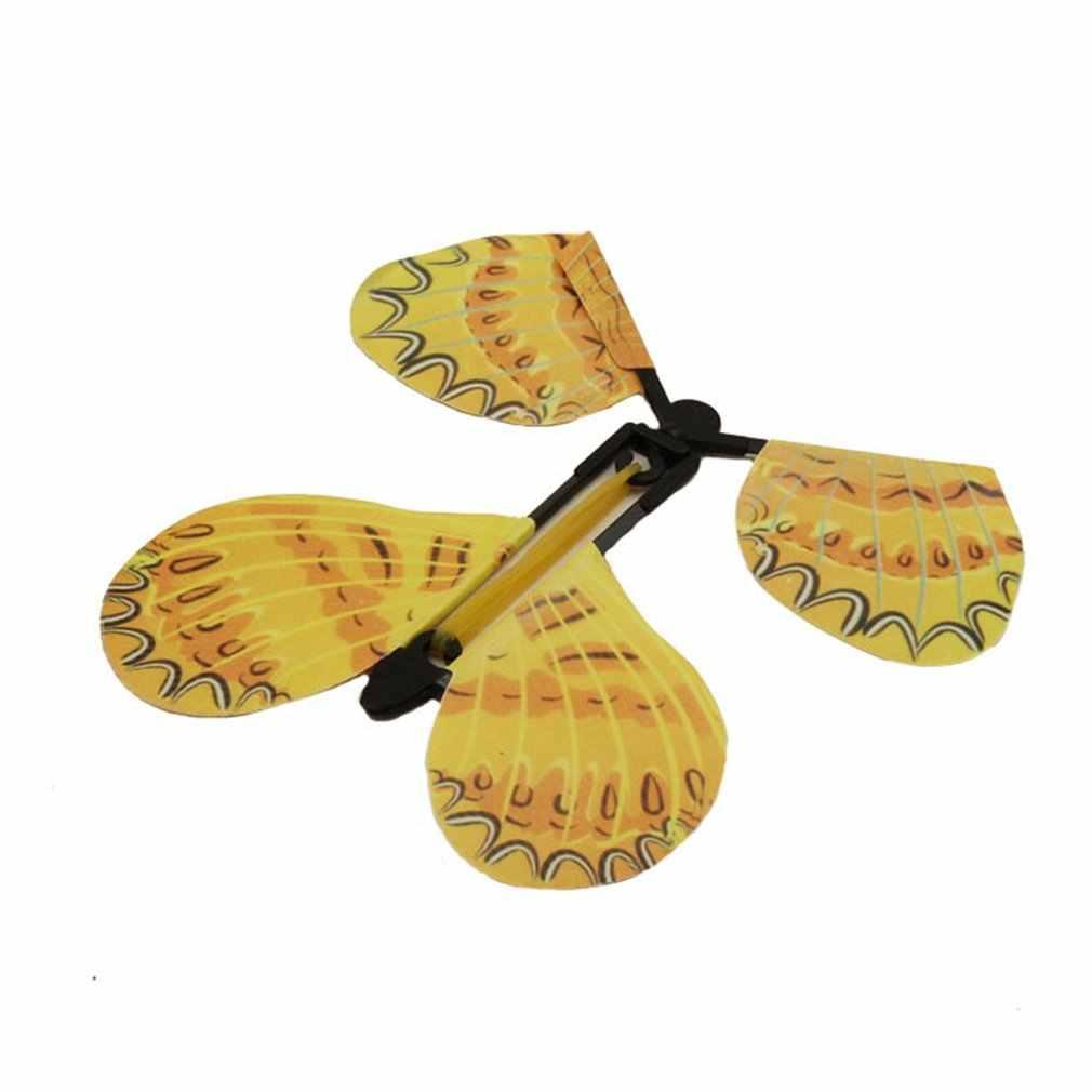 Vliegende Vlinder Pupa In Vlinder Gratis Vlinder Novel Creative Magic Props Kinderen Speelgoed Vliegende Vlinder