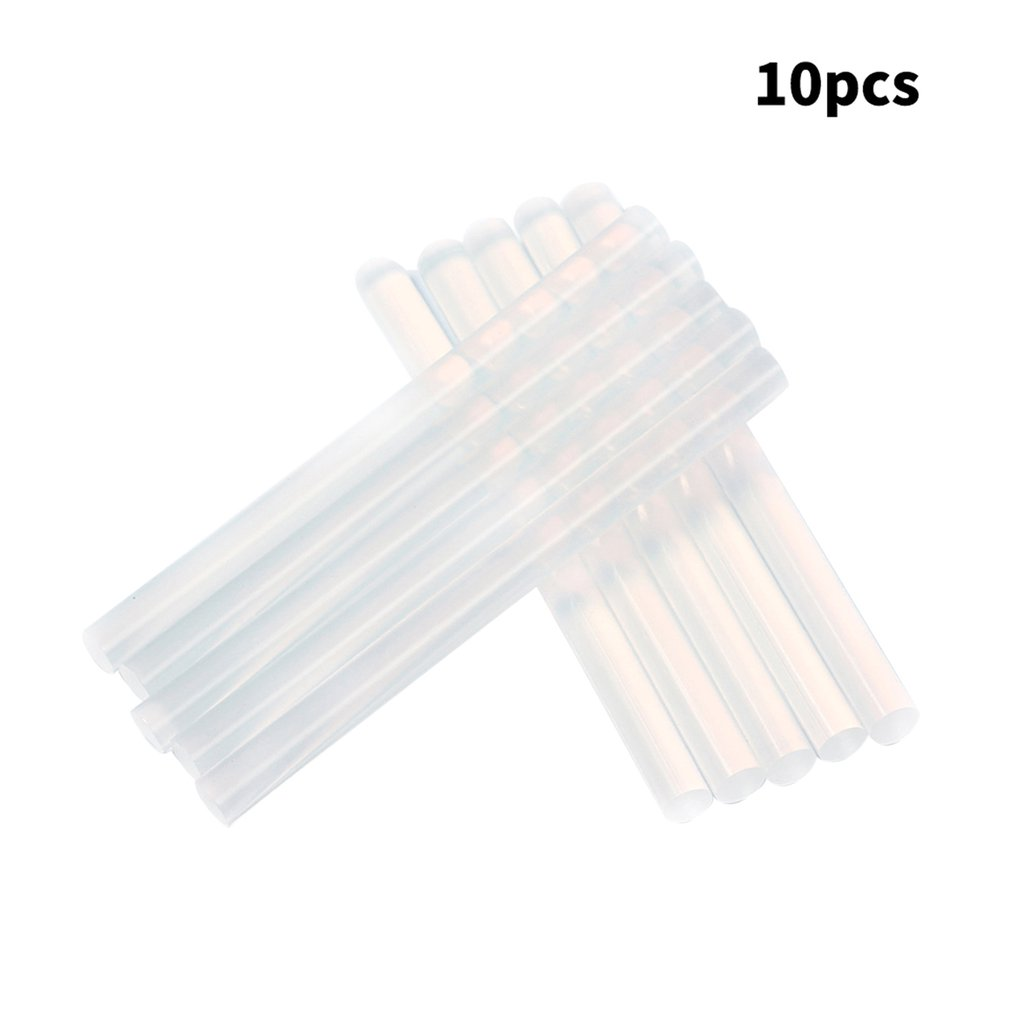 10Pcs/Lot 7mm X 100mm Hot Melt Glue Sticks Electric Glue Gun Craft Album Repair Tools For DIY Manual Toy Repair