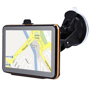 5-Inch Car Gps Navigator Resistance Screen Press Screen 8G 256Mb Mp3/Mp4 Voice Driving Navigation Device Europe Map