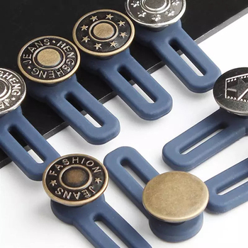 1 шт. выдвижной пуговица на талии Бесплатная ногтей Съемная двухщелевая Пряжка джинсы на талии расширение Пряжка брюки на пуговицах для Костюмы|Пуговицы|   | АлиЭкспресс