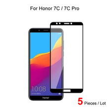 For Huawei Honor 7C Pro / 7C Full Cover 9H 2.5D Tempered Glass Screen Protector Protective Glass Film For Huawei Honor 7C Pro 2pcs for huawei honor 7c pro honor 7c full cover tempered glass screen protector protective glass for huawei honor 7c pro