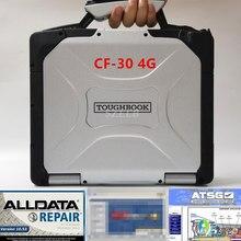 Ordinateur portable Panasonic pour réparation de véhicule, cf30 4g, outil pour réparer toutes données de véhicule, cf30, 2020 m .. ll 10.53, ATSG 2015, disque dur 2017 en 1, bien installé