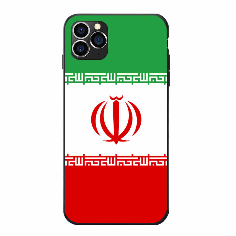イラン国旗コートの腕のテーマソフト TPU 電話カバーケース Oneplus 5 5T 6 6T