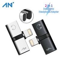 2-In-1 T 형 듀얼 포트 오디오 헤드폰 어댑터 커넥터 분배기 충전기 휴대용 Aux 충전기 이어폰 디스펜서 액세서리