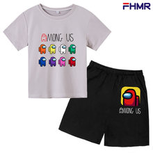 Baby Boy Clothes Outfit Short Sleeve Suit Cotton Girls Boys Summer Clothes Toddler Sets Children Kids T-shirt for 4-14Year