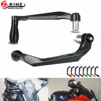Motorcycle Aluminum Brake Clutch Lever Hand Guard Handle Falling Protection For yamaha YBR125 YZ600 YZF600R ktm 950SMR Moto