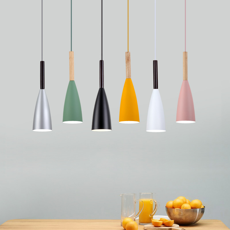E27 Bar Pendant Lights Cafe Restaurant Decor Hanging Lamp Lighting Pendant Lamp Luminaire