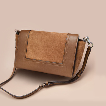 Women's Bag 2019 New Fashion Women's One Shoulder Messenger Bag Retro Frosted Small Square Bag