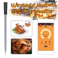 Digital Meat Thermometer Kitchen Smart Wireless Cooking BBQ Food Thermometer Bluetooths Oven Grill Thermometer Probe Outdoor