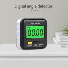 Mini portátil woodworking ângulo finder 360 graus calibre inclinômetro leve magnético eletrônico nível digital transferidor