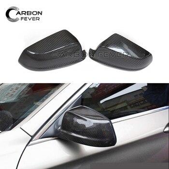 Carbon Fiber Mirror For BMW F10 Mirror 5 Series F10 Sedan 2011 - 2013 520i 528i 535i 518d Carbon Fiber Rear View Mirror Cover