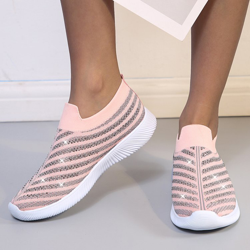 Women Shoes Slip On Women Sneakers 2020 hot Women Vulcanize Shoes Basket Femme Sock Shoes Women Flats Tenis Feminino 43 1
